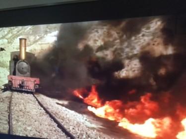 The Little Train comes under fire