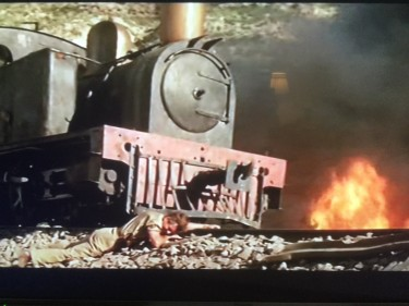 The Train and Kenneth More under Fire