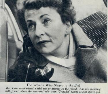 John Cobb s wife waits