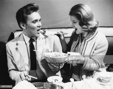 Billy Fury with Anna Palk