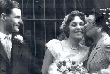 Ellis Powell's son marries 1960