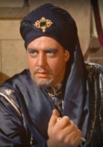 Raymon Burr as The Grand Vizier