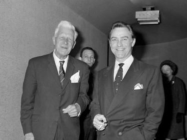 Richard Todd with Barnes Wallis
