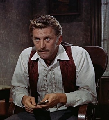Kirk Douglas as Doc Holliday