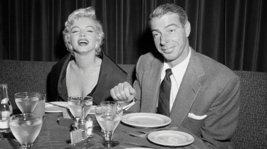 Marilyn and Joe Di Maggio