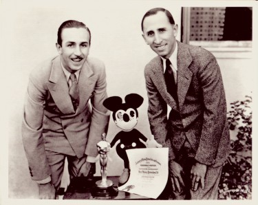Roy and Walt Disney