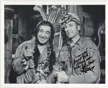 John Hart and Lon Chaney Jnr