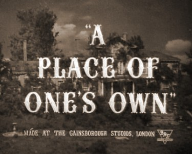 A Place of Ones Own 1945