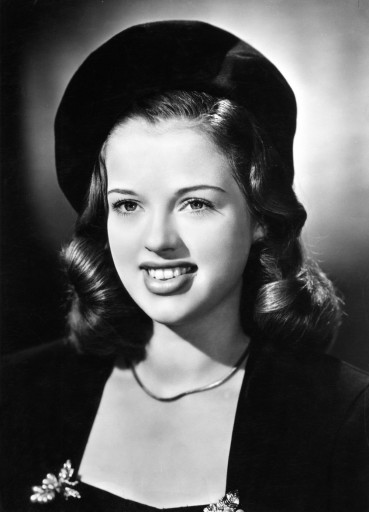 Dors, Diana, 23.10.1931 - 4.5.1984, British actress, portrait in young days, 1940s, Additional-Rights-Clearances-NA