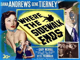 Where the Sidewalk Ends 1950