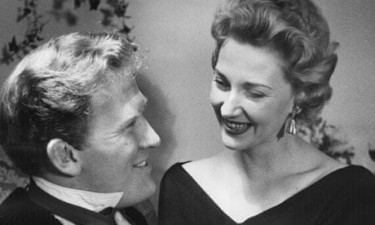Rona Anderson and Gordon Jackson