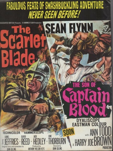 The Scarlet Blade 1962