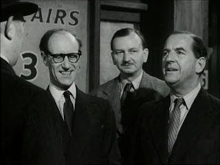 Arthur Howard in Passport to Pimlico (1949)(left)