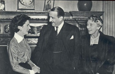 Jean Simmons with J Arthur Rank and his wife