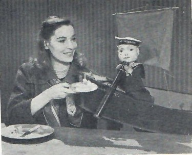 Valerie Hobson with Timothy Telescope