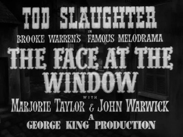 The Face at the Window 1939