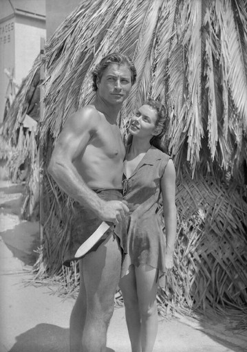 Vanessa Brown with Lex Barker