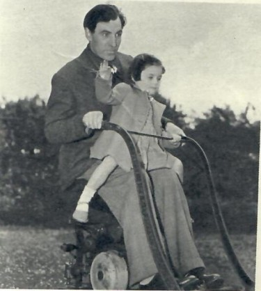 David Farrar with Barbara his Daughter