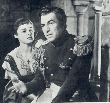 David Farrar with Jeannette Sterke in Captain Banner BBC